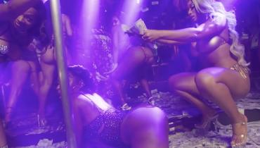 Seksowna Megan Thee Stallion wybrała się z Lil Durkiem do kluby ze striptizem