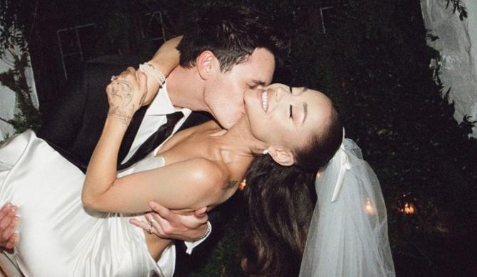 Ariana Grande pochwaliła się zdjęciami ze swojego ślubu