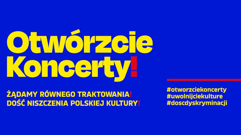 Polska branża muzyczna protestuje przeciwko dyskryminacji i walczy o powrót do koncertowania
