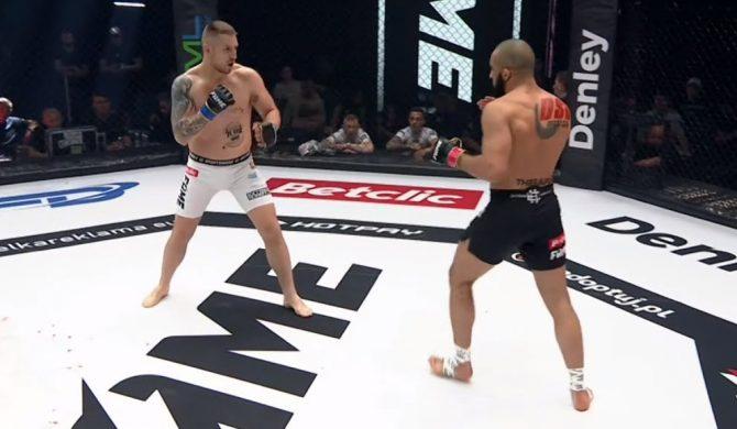 """Fame MMA: Arab imponuje formą i zmysłem taktycznym. """"Ja chcę zarabiać pieniążki"""" – komentuje raper"""