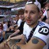 Żabson na meczu reprezentacji Polski. Raper opowiada o znajomości z Mateuszem Klichem