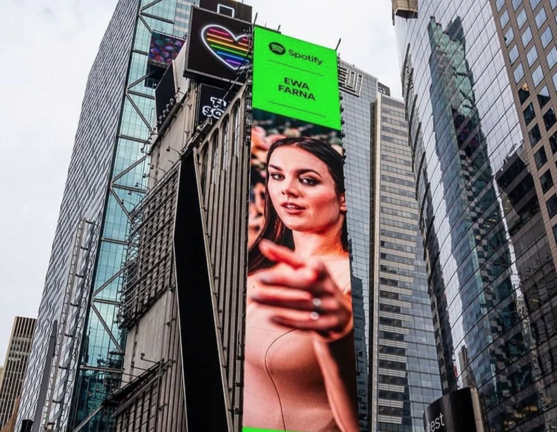 Kolejna polska wokalistka na billboardzie w Nowym Jorku