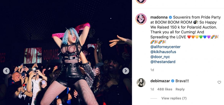 Madonna z odważnym występem podczas imprezy New York Pride