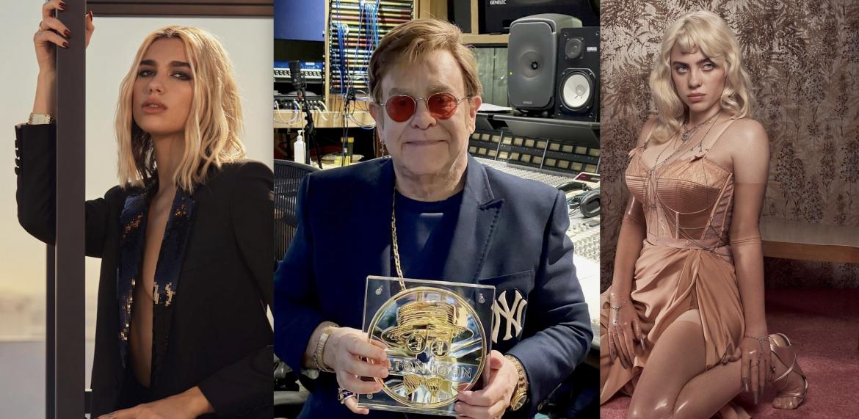 """Elton John wskazuje młodych artystów, którzy """"rozwalili jego mózg"""""""