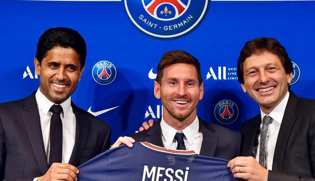 PSG wita Leo Messiego w drużynie polskim kawałkiem