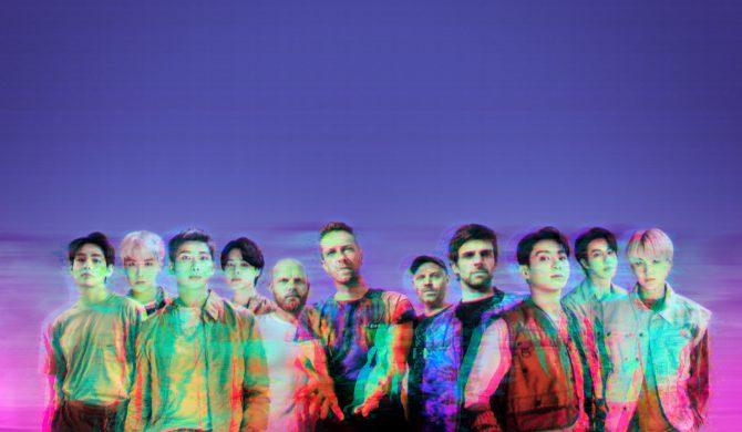 Kosmiczny klip Coldplay i BTS