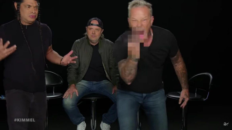 Metallica czyta hejterskie komentarze na temat swojej płyty