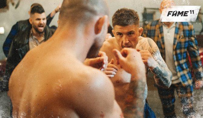 Sarius i Smolasty w singlu promującym Fame MMA 11