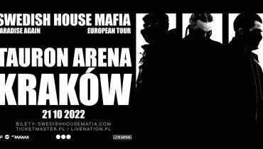 Swedish House Mafia wystąpi w Krakowie