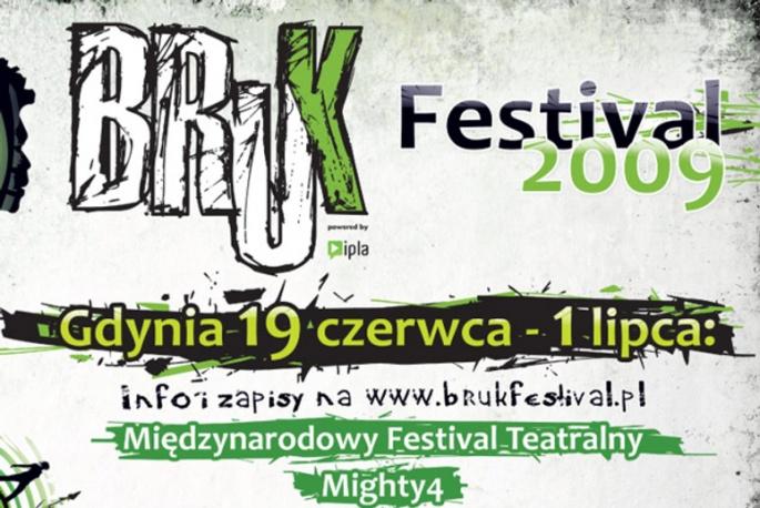 Dużo wydarzeń wokół BRUK Festival