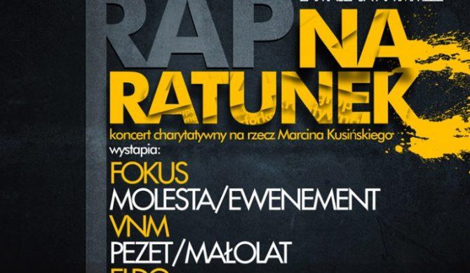 Molesta / VMN / Fokus / Pezet / Małolat / Eldo na koncercie charytatywnym