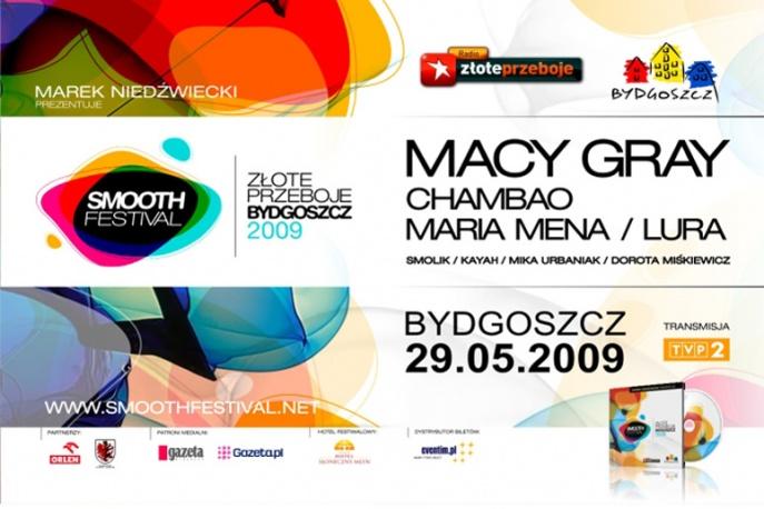 Są bilety na Smooth Festival Złote Przeboje Bydgoszcz 2009