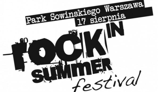 Rock In Summer Festival – kto i o której?