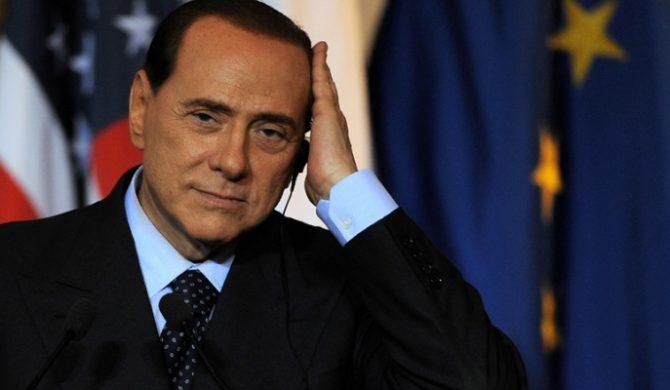 Silvio Berlusconi z balladami