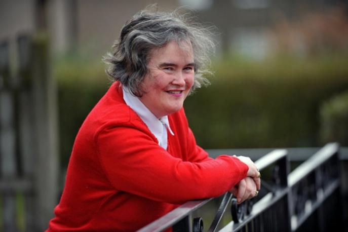 Susan Boyle w listopadzie