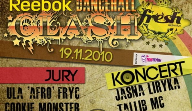 Jasna liryka oraz Tallib MC zagrają na Reebok Dancehall Clash