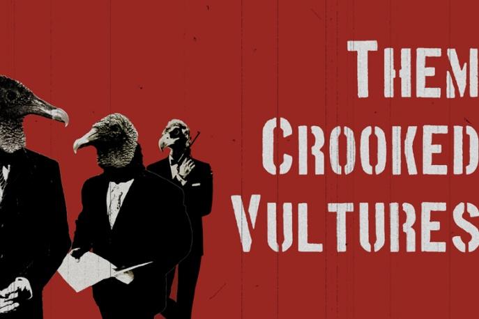 Będzie drugi album Them Crooked Vultures