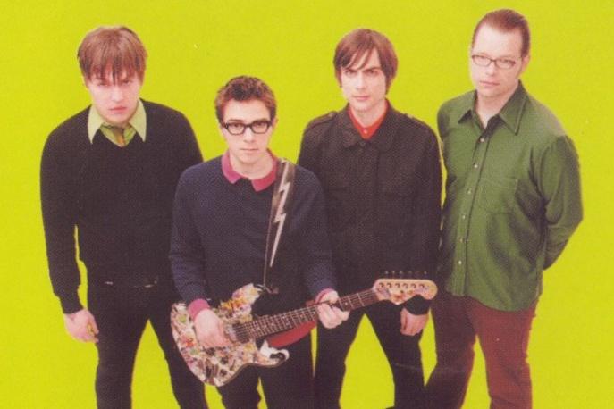 Lider Weezer coveruje Beach Boys