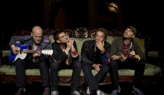 Coldplay nagrywają z wokalistą Ash