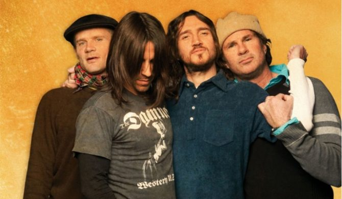 Red Hot Chili Peppers latem