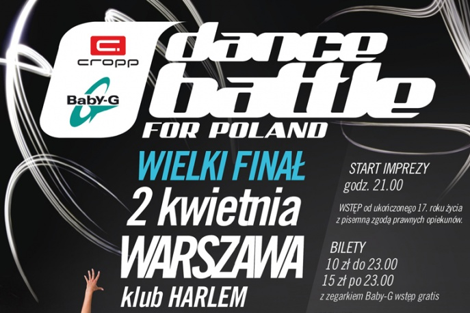 Cropp Baby-G Dance Battle For Poland 2011