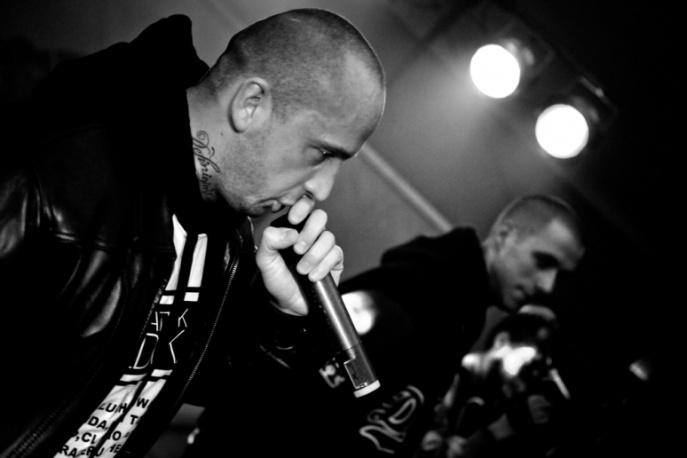 ONYX na poznańskim koncercie Slums Attack