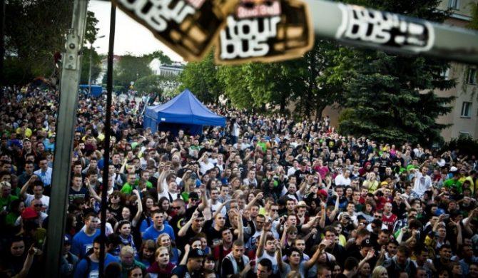 Red Bull Tourbus na Sonisphere Festival