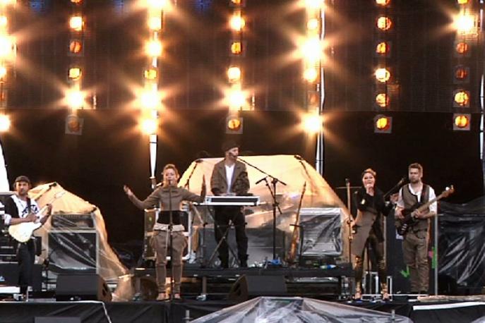 HOF 2011: Zobacz fragmenty koncertów Sistars, Primus, Kate Nash i Hurts