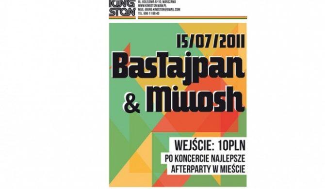 Bas Tajpan i Miuosh w Warszawie