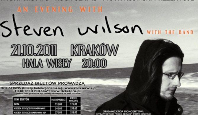 Ruszyła sprzedaż na koncert Stevena Wilsona