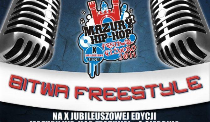 Bitwa Freestyle podczas X edycji Mazury Hip-Hop Festiwal