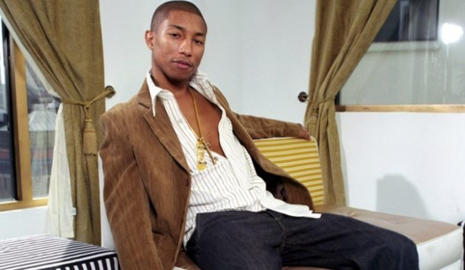 Pharrell Williams robi drinka dla kobiet