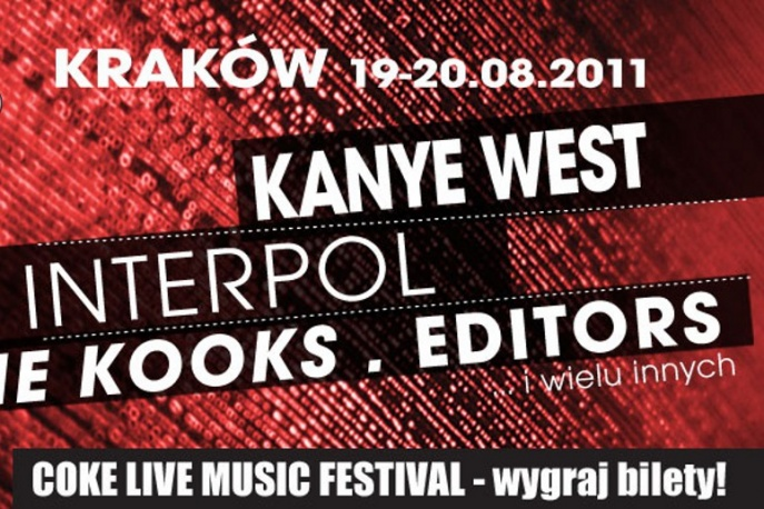 Wygraj wejściówki na Coke Live Music Festival 2011