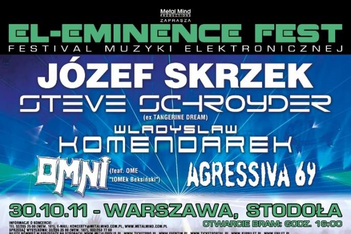 Józef Skrzek i Steve Schroyder na El-Eminence Fest