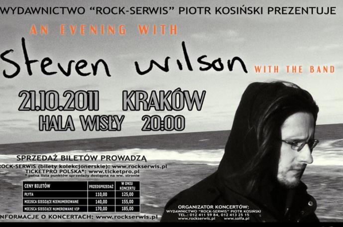 Steven Wilson za kilka dni w Polsce