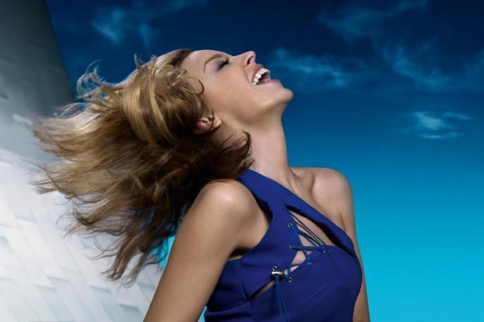 Kylie Minogue z piosenką dekady