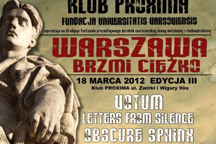 Warszawa Brzmi Ciężko po raz trzeci