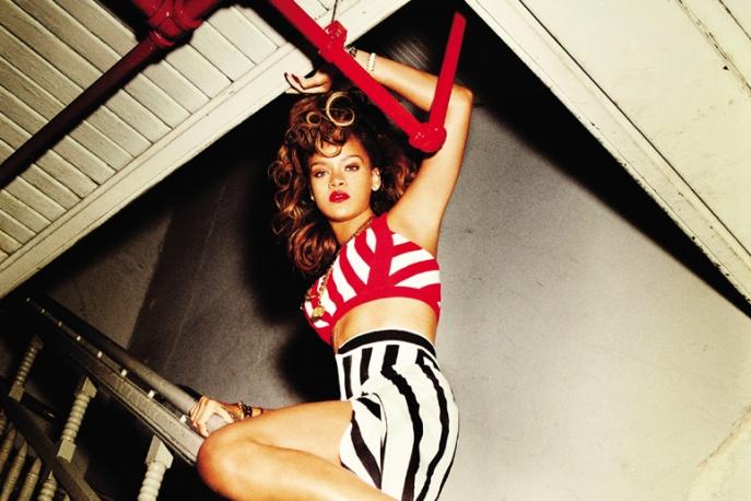 Rihanna kręci teledysk