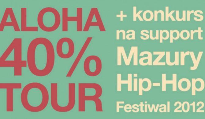 Znamy wyniki eliminacji przed ALOHA 40% TOUR w Warszawie