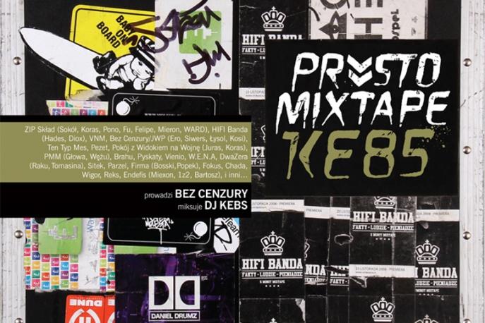 """""""Prosto Mixtape Kebs"""" już w sprzedaży"""