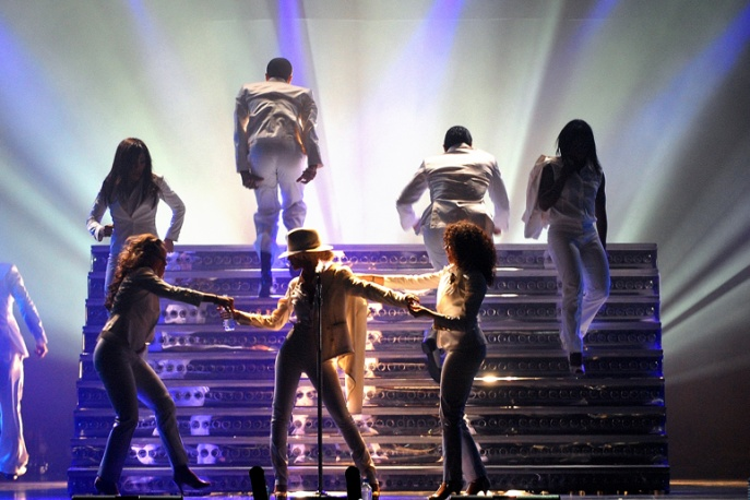 Christina Aguilera nagra z Cee Lo