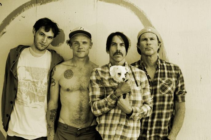 Red Hot Chili Peppers z kowerami
