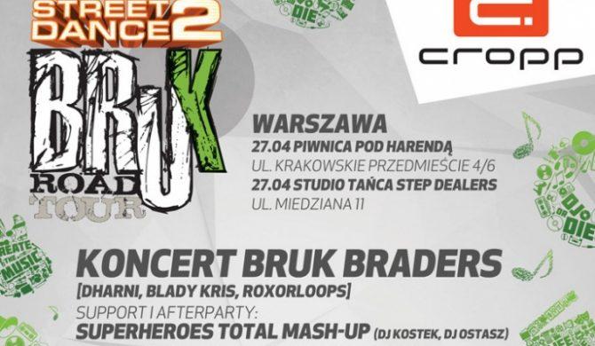 StreetDance 2 Bruk Road Tour