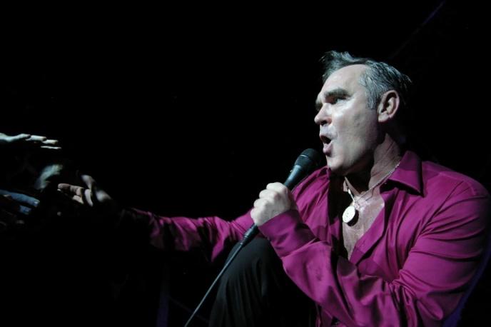 Morrissey zły na ochroniarzy