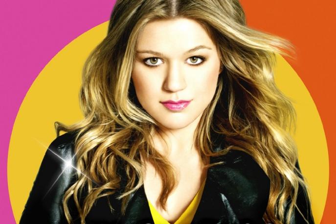 Kelly Clarkson w studiu