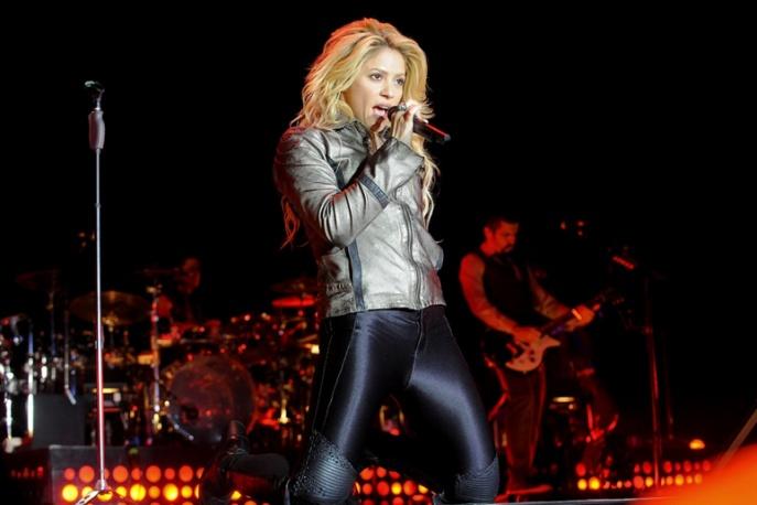 Shakira nagrywała w Gdańsku