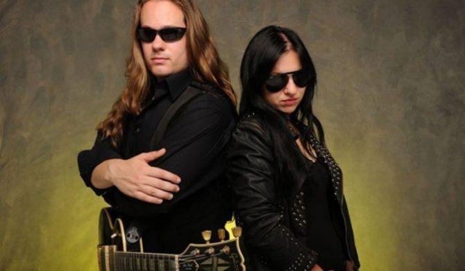 Will Wallner i Vivien Vain w Metal Mind Productions