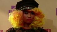 MTV VMA 2012: Nicki Minaj na czerwonym dywanie