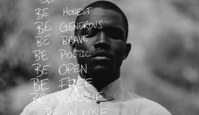 Frank Ocean rapuje w nowym utworze – audio
