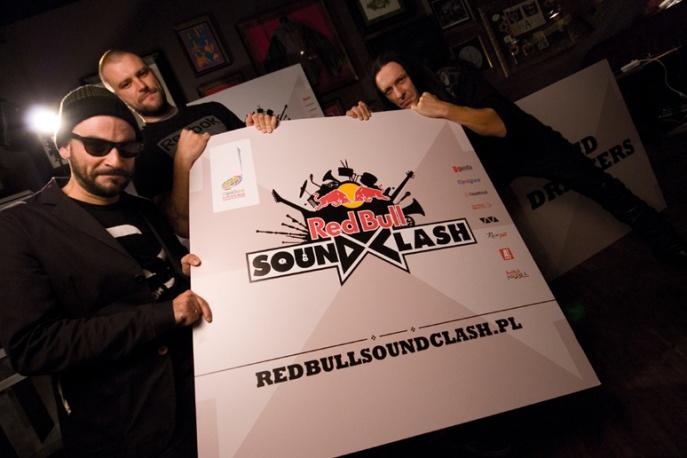 Fisz i Emade vs. Acid Drinkers – gwiazdy Red Bull Soundclash